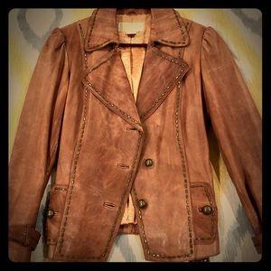 Michael Michael Kors genuine leather jacket